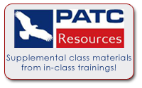 PATC Resources:Access Your Classroom Training Materials