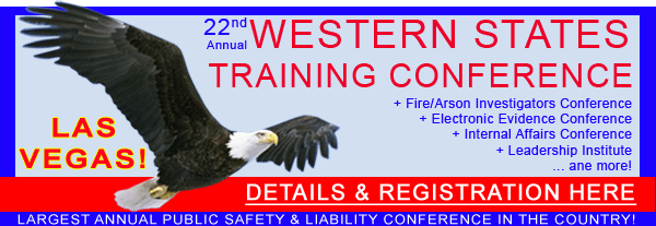 2014 Western States Law Enforcement Training Conference, Las Vegas, NV