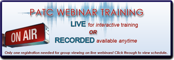 Watch Live or Recorded Webinars Here